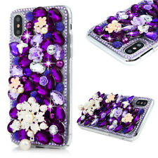 Handmade Lady's Diamond Glitter Bling 3D Hard Phone Case Cover For iPhone X 6S 7