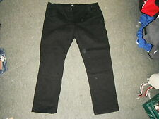 "Evie Skinny Basic Size 18 Leg 31"" Black Faded Ladies Jeans"