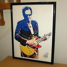 Joe Bonamassa Singer Blues Rock Guitar Music Poster Print Wall Tribute Art 18x24