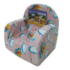 Poltrona sedia poltroncina Disney WINNIE THE POOH cameretta nuvoletta rosa G811