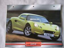 Lotus Elise 111S Dream Cars Card