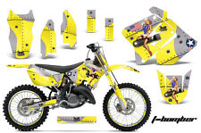 Suzuki RM 125/250 Graphic Kit AMR Racing # Plates Decal Sticker Part 01-09 TBY