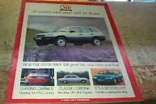 1965 - 1995 TOYOTA UK  - 30th Anniversary Sales Brochure 2000GT Corona Celica