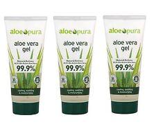 ALOE Pura Aloe Vera Gel | | | ustioni trattamento lenitivo 200ml - 3 Confezione