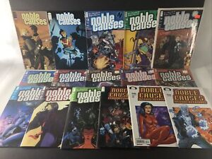 Noble Causes Image 16 Comic Lot 10 12-14 19-21 23 25-28 31 Extended Family ++++