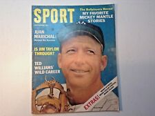 VINTAGE SPORT MAGAZINE- SEPT. 1964- MICKEY MANTLE COVER-TED WILLIAMS-BASEBALL