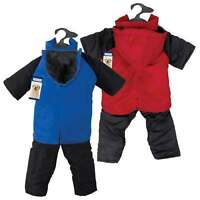 Casual Canine SNOWSUITS Warm Zip-Off Hood/Legs Polyfilled Insulated Nylon