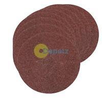 115mm Angle Grinder 60G Fibre Sanding Discs Grinder 10Pk UK Hot