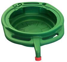 Bandeja De Drenaje De Aceite Líquido Anticongelante Refrigerante verde de 17 litros con Tapón de Rosca Resistente