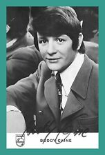 BUDDY CAINE | Sänger | Original-Autogramm auf Philips-Autogrammkarte