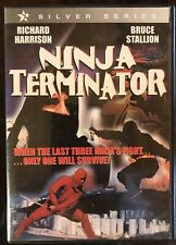 Ninja Terminator Dvd 2006 Richard Harrison Bruce Stallion Rare Oop Very Good