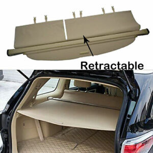 For 2014-2020 Toyota Highlander Cargo Cover Trunk Shield Privacy Security Shade
