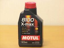 MOTUL 8100 X-MAX 0w-40 1 L. Vollsyn MB 229.5 INCL. AMG/Ford wss-m2c 937 a