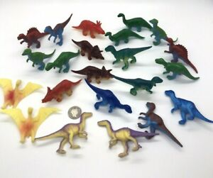 22 Ja-Ru Planet World Play Set Dinosaurs Hard Plastic Vinyl Multi Colors