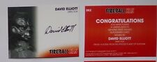 Unstoppable cards Gerry Anderson Fireball XL5 autograph card