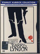 S.Kubrick R.O'Neal M.Berenson BARRY LYNDON nuovo sigillato DVD SNAPPER