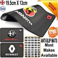 CAR LOGO DASHBOARD NON SLIP GRIP DASH MAT ANTI SLIDE PHONE KEYS COINS STICK MATS