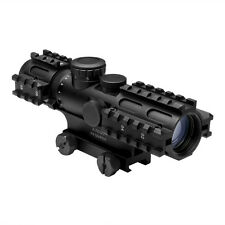 NcStar SEC3RSM2732G 2-7x32 Mil-Dot Illuminated Tri Rail QR Rifle Gun Scope