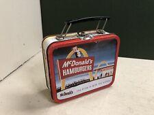 1997 Mcdonalds pequeñas abolladuras Metal Lunch Box ()