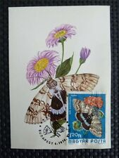 UNGARN MK 1974 BUTTERFLY SCHMETTERLINGE MAXIMUMKARTE CARTE MAXIMUM CARD MC c4216