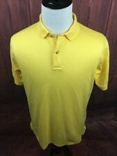 Titleist by Corbin Footjoy Cotton Golf Yellow Polo Short Sleeve Mens Large