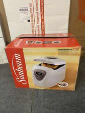 NEW Sunbeam Programmable Breadmaker (5891) Open Box Bread Maker Machine 2lbs