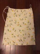109 Korean Women's Fashion Floral Print Belted Skirt