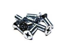 """(100) 1/4x3/4"""" Machine Screws - Phillips Flat Head - Zinc"""