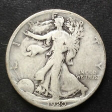 1920-S Liberty Walking Half Dollar Silver U.S. Coin A4171