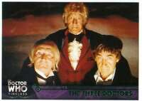 2016 Topps Doctor Who Timeless Green Foil Parallel #14 The Three Doctors
