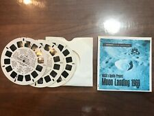 Nasa'S Apollo Moon Landing 1969 View Master 3-pack of reels,1 Booklet, B6631-3