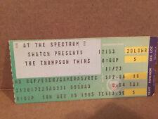 The Thompson Twins Concert Ticket Stub 12-15-1985
