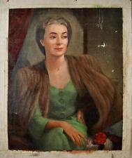 Dunbar Dyson Beck Pair of Portrait of a distinguish lady possi wife of a Senator