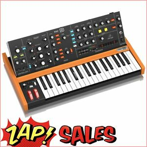 Behringer POLY-D Analog 4-Voice Polyphonic Synthesizer, 37 Full-Size Keys