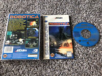 Robotica (Sega Saturn, 1995) Complete In Long Box Tested WORKS Authentic Game