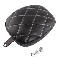 Cushion Rear Seat Passenger Pillion Pad For Harley Sportster XL 1200 XL883 72 48