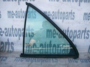 96-02 MERCEDES-BENZ W210 OEM LEFT DRIVER REAR DOOR VENT QUARTER GLASS WINDOW