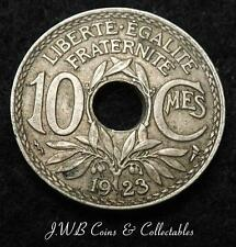 1923 France 10 Centimes Coin