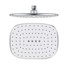 Modern Square Rain Shower Head Top Over-head Sprayer Single Function Shower