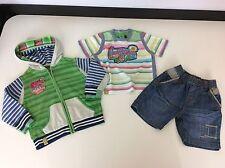 Catimini Boys 3 Piece Outfit, Set, Age 2, 86cm, Hoodie, Shorts, T Shirt Vgc