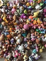 Littlest Pet Shop random Lot of 5 pets + 1 Free LPS mouse Dog Cat Horse and More