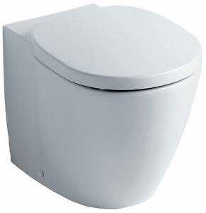 Ideal Standard Concept Back to Wall WC Pan - Pan Only - E791601