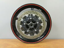 2007 2008 Yamaha YZF R1 R-1 OEM Front Wheel Rim & Brake Rotors Straight