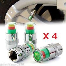 Válvula de Presión de Neumáticos 4X sistema de monitoreo de polvo tapa 2.4 Bar 36psi Auto Coche Barato!!!