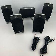 Lot of 5 Logitech Z-5500 THX Dolby 5.1 Surround Sound Computer Speakers