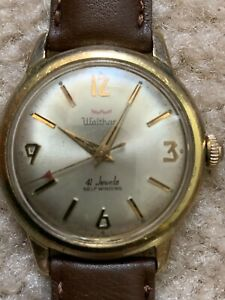 Vintage self-winding WALTHAM 41 Jewels men's watch.
