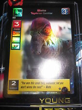 SWCCGYJ CCG YOUNG JEDI REFLECTIONS FOIL MINT SUPER RARE N° 74 WATTO TOYDARIAN