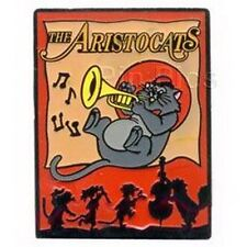 Aristocats cat playing the trumpet authentic Disney  pin/pins