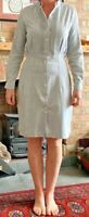 PAUL SMITH Dress,100% Cotton,Long Sleeves with Contrasting Inner Cuffs,Size12/44