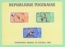 Togo 1 SS , SC C60a, Soccer, 1966,  MNH